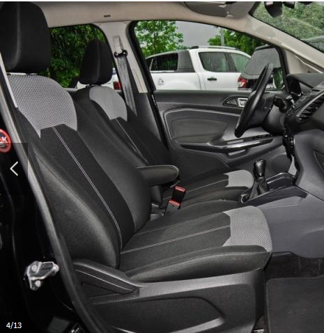 FORD ECOSPORT (09/2014) - BLACK METALLIC - lieu: