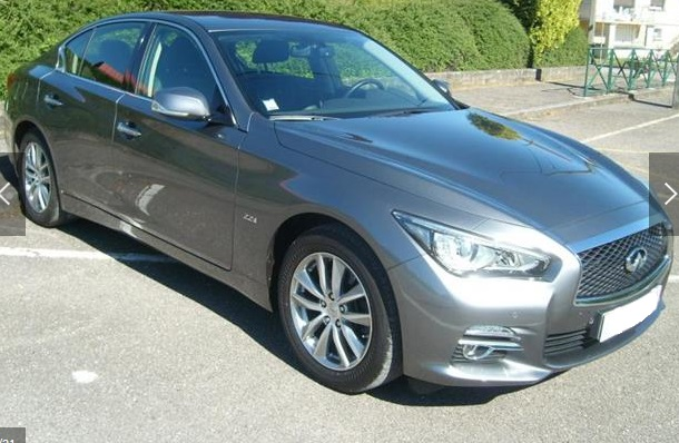 INFINITI Q50 (04/2014) - GREY METALLIC - lieu: