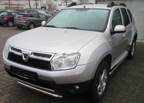 lhd DACIA DUSTER (05/2013) - GREY METALLIC - lieu: