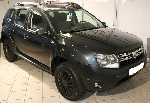 lhd DACIA DUSTER (05/2014) - GREY METALLIC - lieu:
