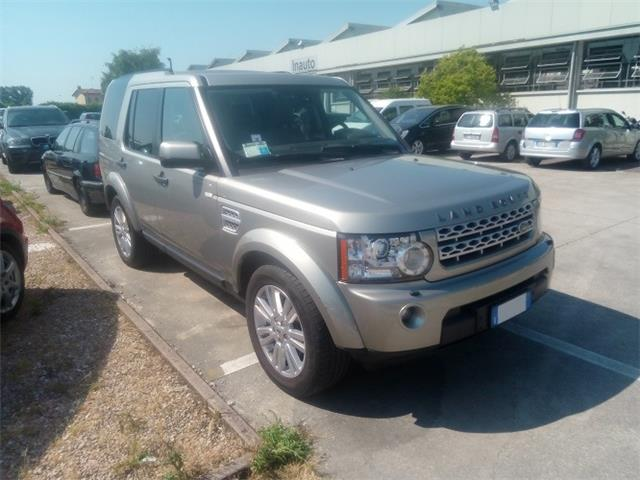 Left hand drive LANDROVER DISCOVERY SD4 HSE 7 SEATS