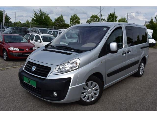 Left hand drive FIAT SCUDO FAMILY 120 MULTIJET 8 SEATER