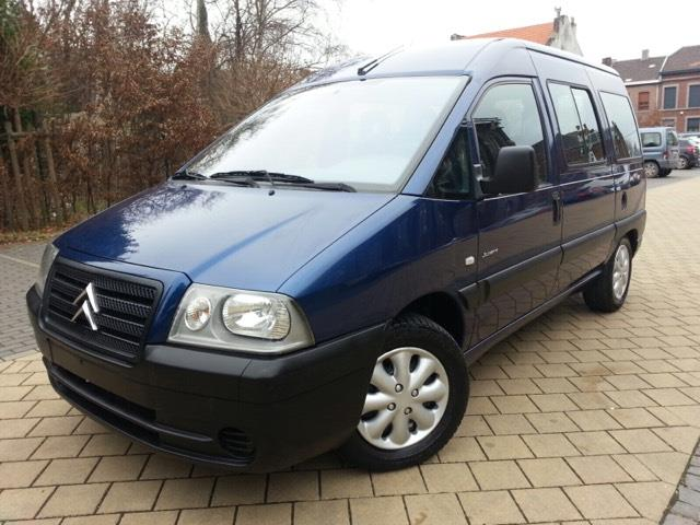Left hand drive CITROEN JUMPY 2.0 HDI 9 SEATER