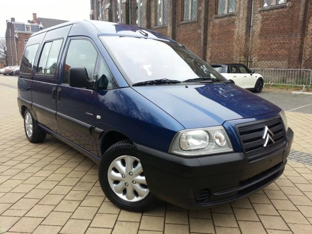 CITROEN JUMPY (09/2006) - BLUE - lieu: