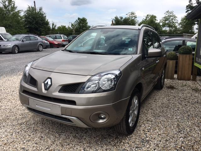 Left hand drive RENAULT KOLEOS 2.0 DCI EXCEPTION
