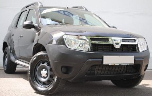 lhd DACIA DUSTER (01/2014) - BLACK METALLIC - lieu: