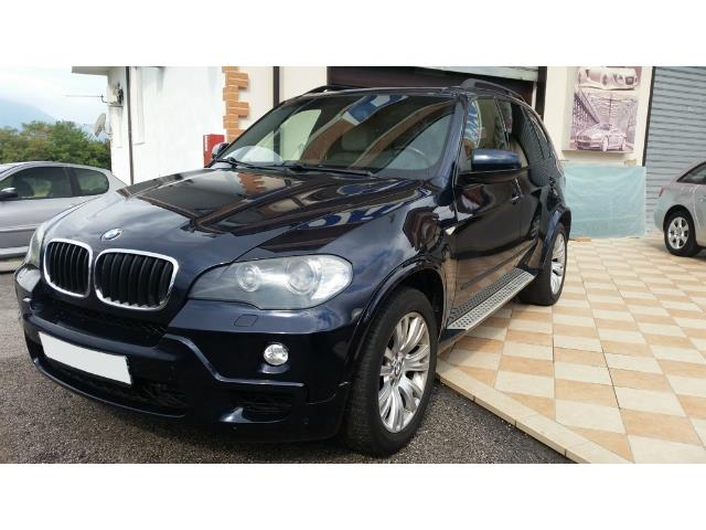 Left hand drive BMW X5  4.8i cat M-Sport 7 seats
