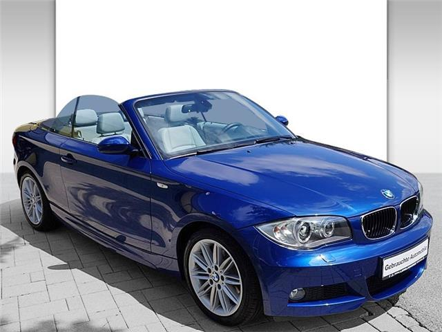 lhd BMW 1 SERIES (12/2009) - BLUE - lieu: