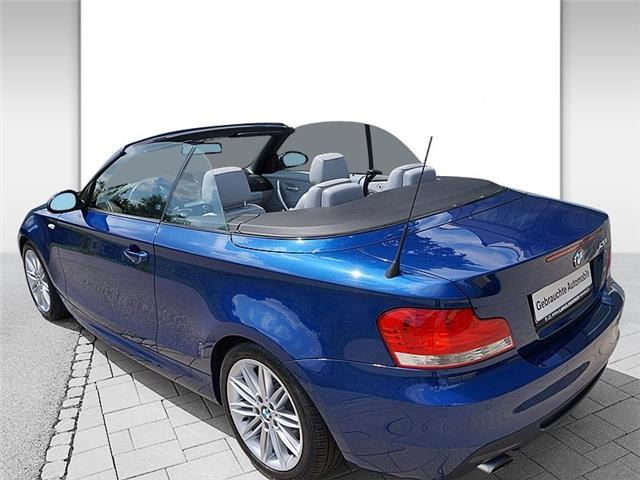 BMW 1 SERIES (12/2009) - BLUE - lieu: