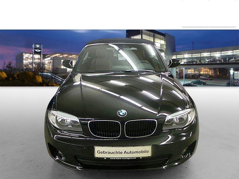 Left hand drive BMW 1 SERIES 120d Cabrio comfort