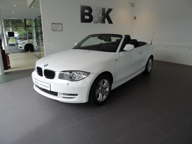 lhd BMW 1 SERIES (10/2010) - WHITE - lieu: