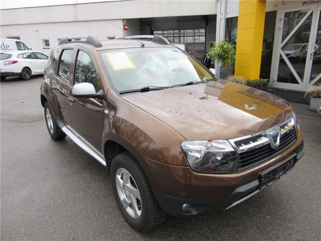 lhd DACIA DUSTER (11/2011) - brown metallic - lieu: