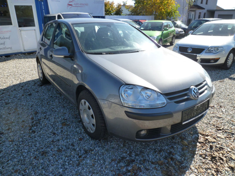 VOLKSWAGEN GOLF (10/2004) - grey - lieu: