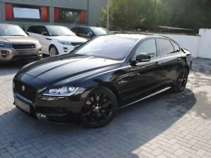 Left hand drive JAGUAR XF R-Sport 35t AWD BLACK PACK