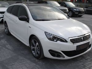 Left hand drive PEUGEOT 308 SW 2.0 blueHDi 150 GT Line edition panorama