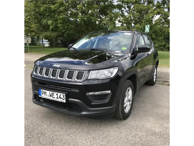 lhd JEEP COMPASS (08/2017) - black - lieu: