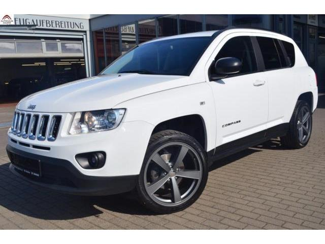 Lhd JEEP COMPASS (03/2012) - white - lieu: