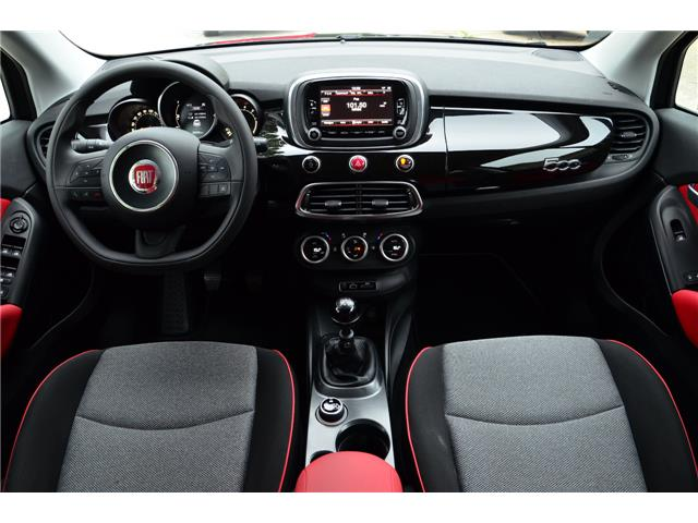 Left hand drive car FIAT 500X (04/2015) - black - lieu: