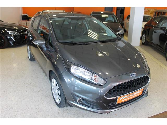 Left hand drive FORD FIESTA 1.25 Trend 82
