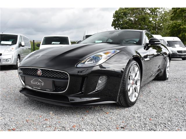 Left hand drive JAGUAR F-TYPE COUPE 3.0 V6