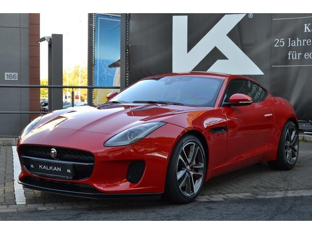 lhd JAGUAR F-TYPE (09/2017) - red - lieu: