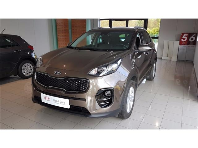 lhd KIA SPORTAGE (01/2017) - brown