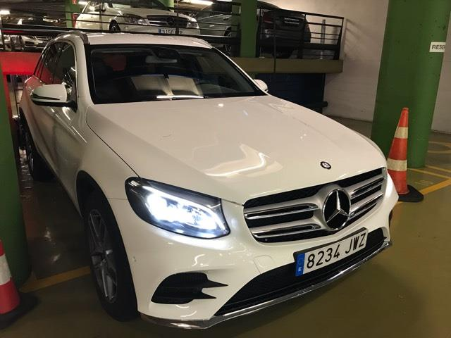 Left hand drive MERCEDES GLC 220 d 4Matic Aut