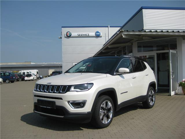 lhd JEEP COMPASS (08/2017) - white