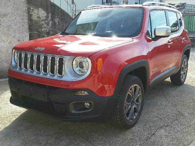 Left hand drive JEEP RENEGADE 2.0 Mjt