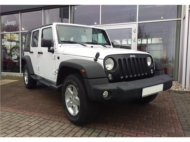 Left hand drive JEEP WRANGLER  2,8 CRD