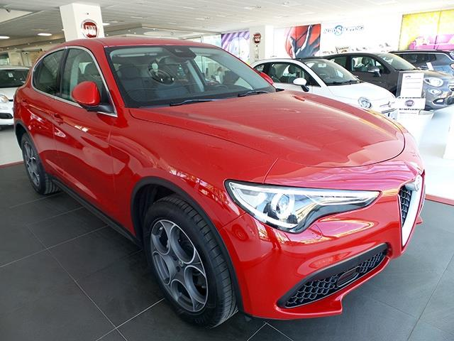 Left hand drive ALFA ROMEO STELVIO 2.0 Turbo 280 CV AT8 Q4