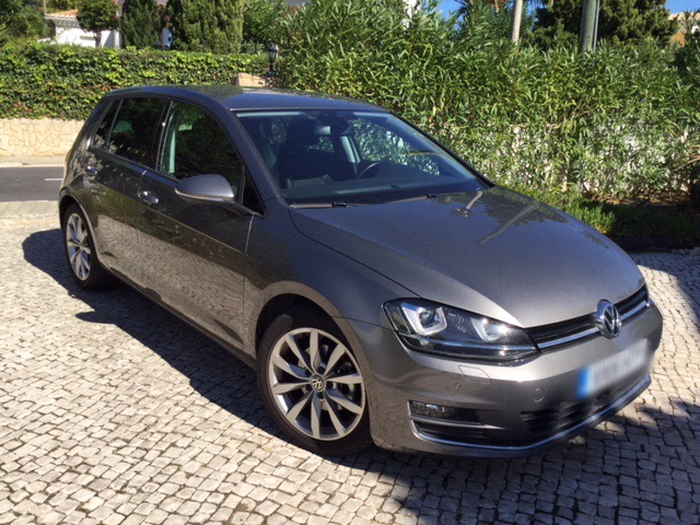 VOLKSWAGEN GOLF (01/2015) - grey