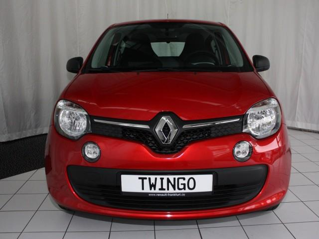 lhd car RENAULT TWINGO (05/2017) - red - lieu:
