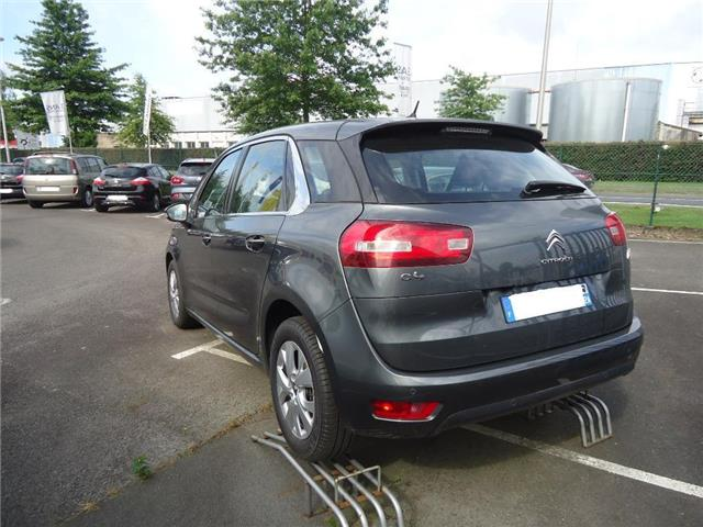 lhd car CITROEN C4 PICASSO (11/2017) - grey - lieu: