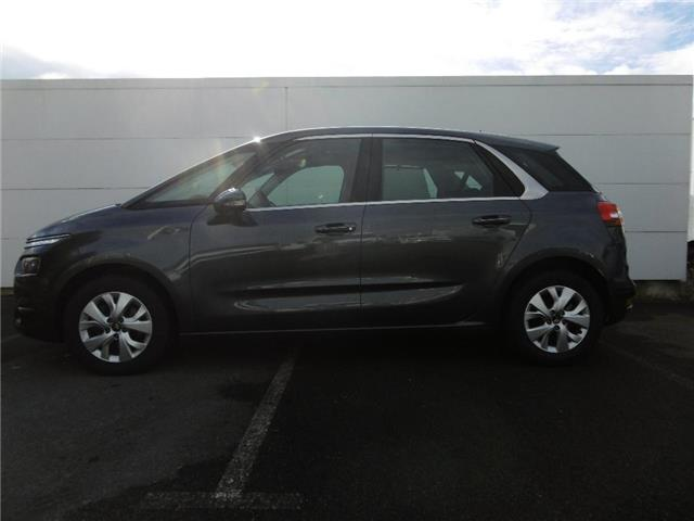 Left hand drive car CITROEN C4 PICASSO (11/2017) - grey - lieu: