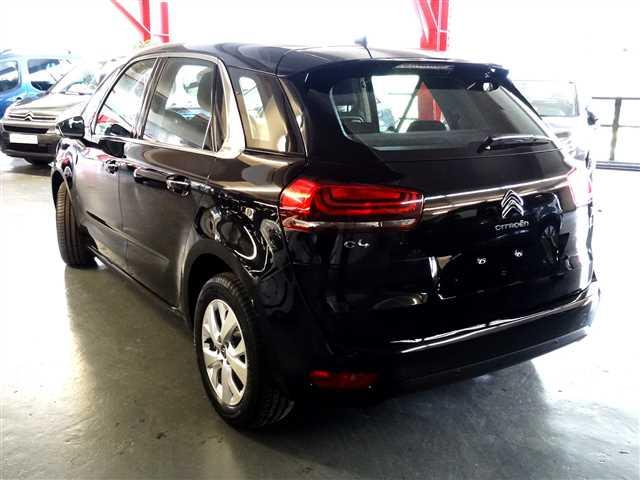 Left hand drive car CITROEN C4 PICASSO (02/2017) - black - lieu: