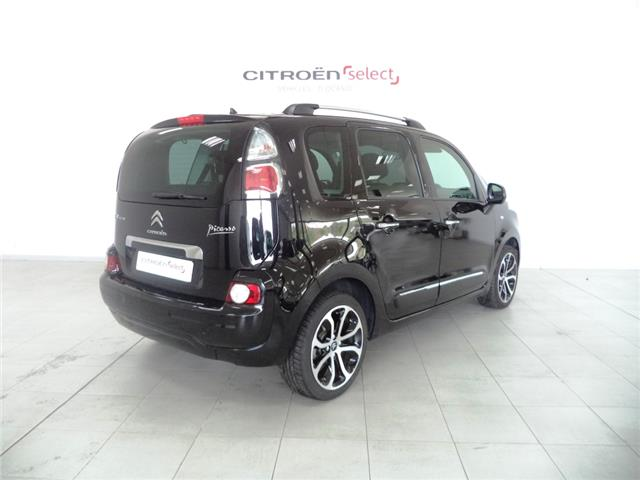 lhd car CITROEN C3 PICASSO (03/2017) - black - lieu: