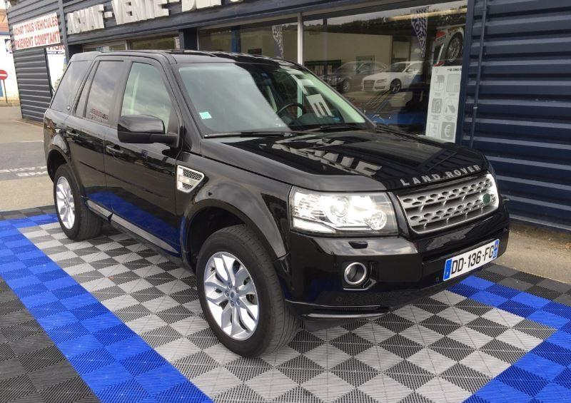 lhd car LANDROVER FREELANDER (10/2014) - BLACK - lieu: