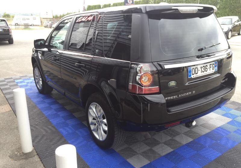 Left hand drive car LANDROVER FREELANDER (10/2014) - BLACK - lieu: