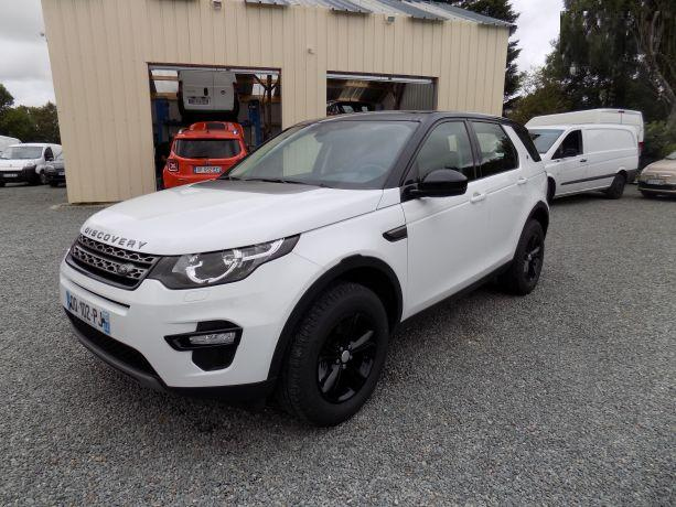 Lhd LANDROVER DISCOVERY SPORT (04/2015) - WHITE - lieu: