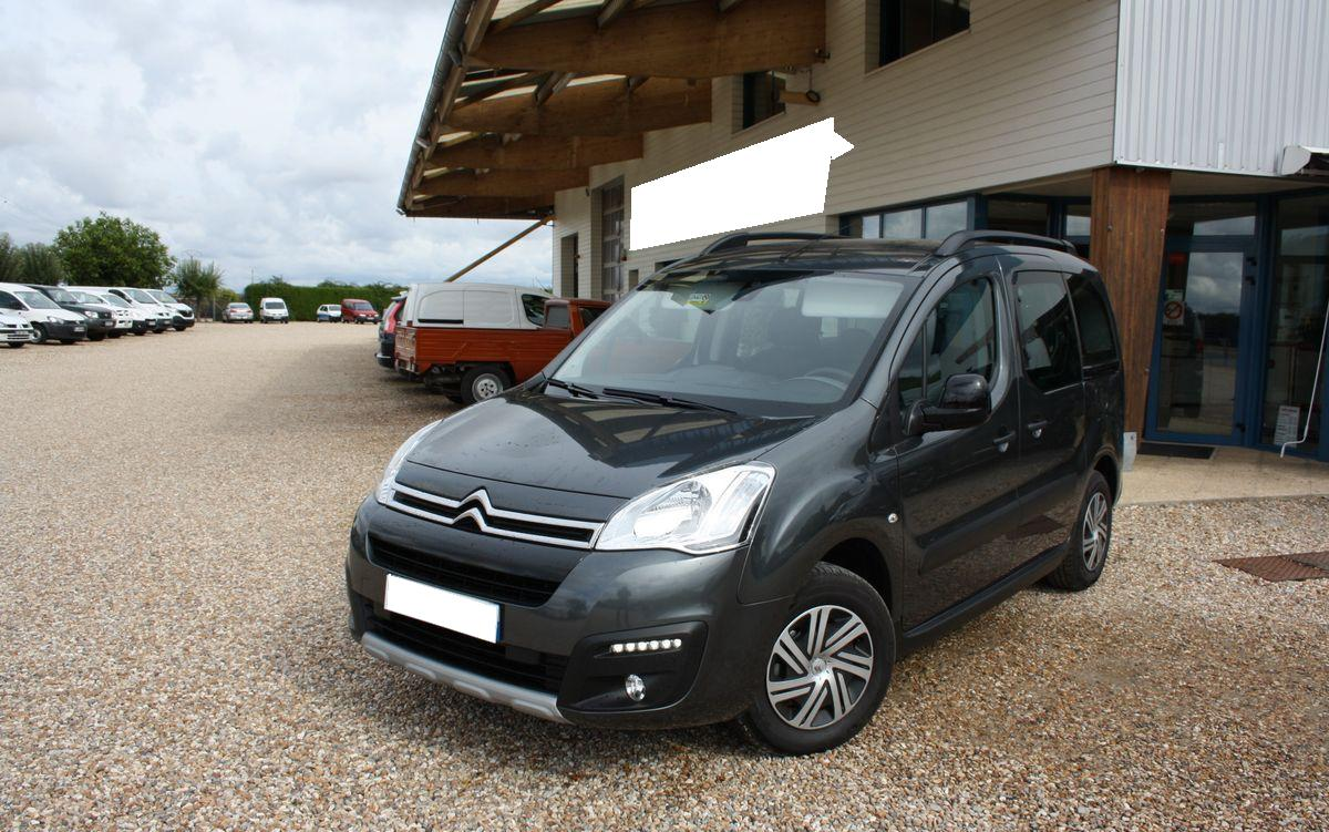 lhd CITROEN BERLINGO (10/2016) - BLACK - lieu: