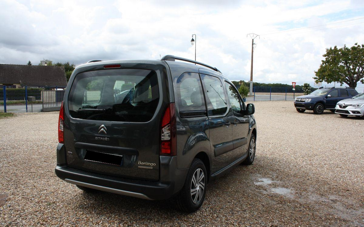 CITROEN BERLINGO (10/2016) - BLACK - lieu: