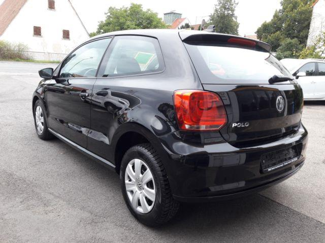 Left hand drive car VOLKSWAGEN POLO (03/2014) - black - lieu: