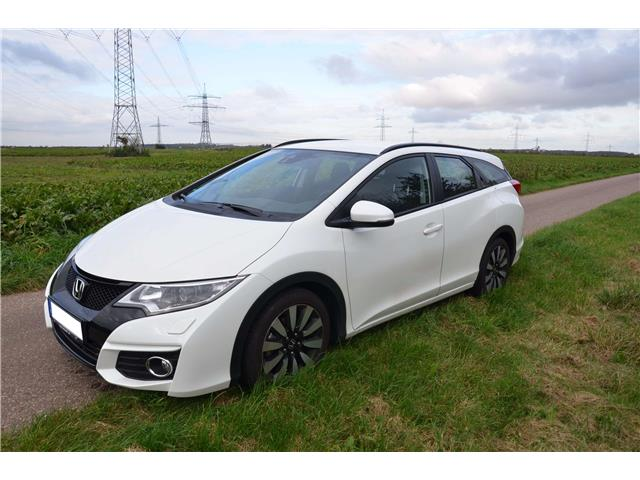 lhd HONDA CIVIC (12/2016) - white - lieu: