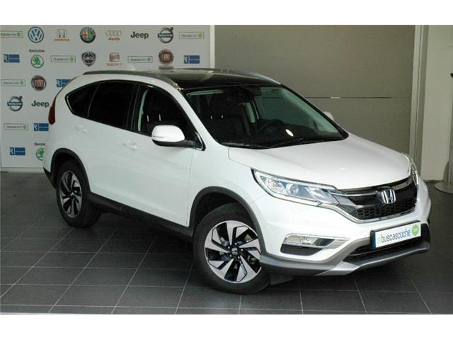 HONDA CR V (04/2017) - white - lieu: