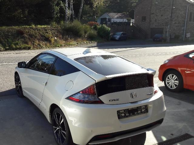 HONDA CR-Z (10/2013) - white - lieu: