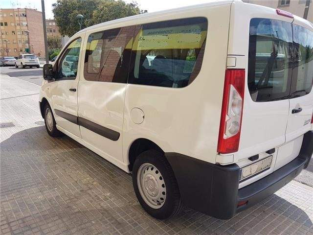 lhd CITROEN JUMPY (10/2013) - White - lieu: