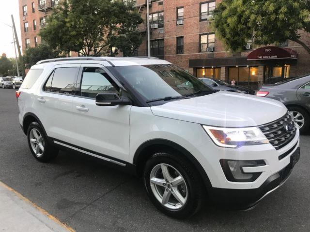 FORD EXPLORER (04/2016) - white