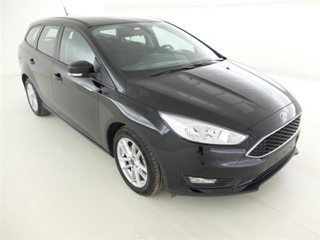 lhd car FORD FOCUS (08/2016) - black - lieu: