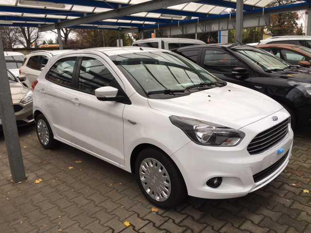lhd car FORD KA (01/2017) - white - lieu: